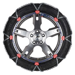 Pewag Snox Pro Self-Tensioning Snow Tire Chains - Diamond Pattern - Square Link - 1 Pair