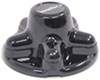 Phoenix USA QuickTrim Hub Cover for Trailer Wheels - 5 on 4-1/2 - ABS Plastic - Black - Qty 1