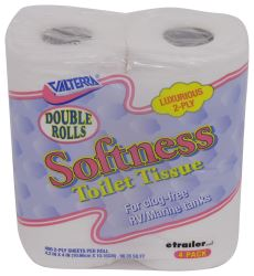 Softness Double Roll RV Toilet Tissue - 2 Ply - 4 Pack