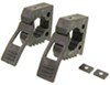 "Quick Fist Original Clamps - 1"" to 2-1/4"" Inner Diameter - Rubber - 25 lbs Each - Qty 2"