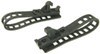 "Quick Fist Long Arm Clamps - 1/2"" to 4-1/2"" Inner Diameter - Rubber - 50 lbs Each - Qty 2"