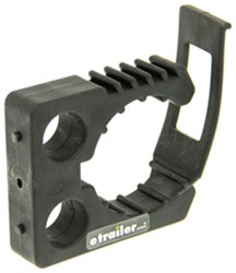 "Quick Fist 3"" Clamp - 2-3/4"" to 3-1/4"" Inner Diameter - Rubber - 50 lbs"