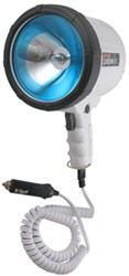 3-Million-CP Spotlight - Hand-Held - 10' Coil Cord w/ 12V DC Plug - Glare Reduction - White