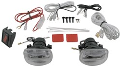 "Driving Mini-Light Kit - Halogen - 55 Watt - Square, 2-1/2"" x 2-1/4"" - Clear Lens - Qty 2"