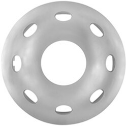 "Phoenix USA QuickTrim Ring Cover for 15"" Trailer Wheels - 5 on 4-1/2 - Chrome ABS - Qty 1"