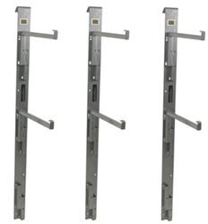 Side Wall Adjustable Shelf Supports for Enclosed Cargo Trailers