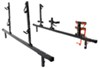 Rack'Em Rack for Truck Bed Side Rails - Holds 2 Trimmers, 1 Blower, 1 Spool, 1 Cooler