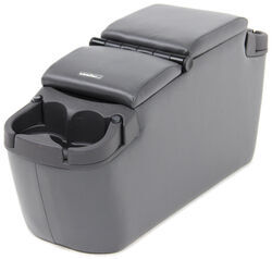 "Rampage Minivan Center Console - 29"" Long x 9"" Wide x 14"" Tall - Charcoal"
