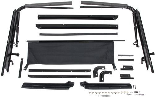 Rampage Replacement Soft Top Hardware For Jeep Wrangler Yj