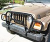 Rampage Euro Style Grille Guard for Jeep - Black Powder Coated Steel