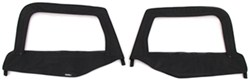 Rampage Replacement Upper Door Skins for Jeep - Black Diamond - 1 Pair
