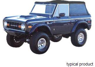 Rampage Safari Island Topper for Ford Bronco - Full Length ...
