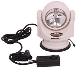 Remote-Control Spotlight - 500,000 CP - 10' Control Cable - Stainless Steel - White