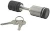 "Stainless Steel Trailer Coupler Lock - Deadbolt Style 7/8"" Span"