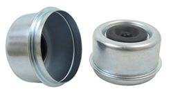 "Grease Cap, 2.44"" OD Drive In with Plug - Qty 2"
