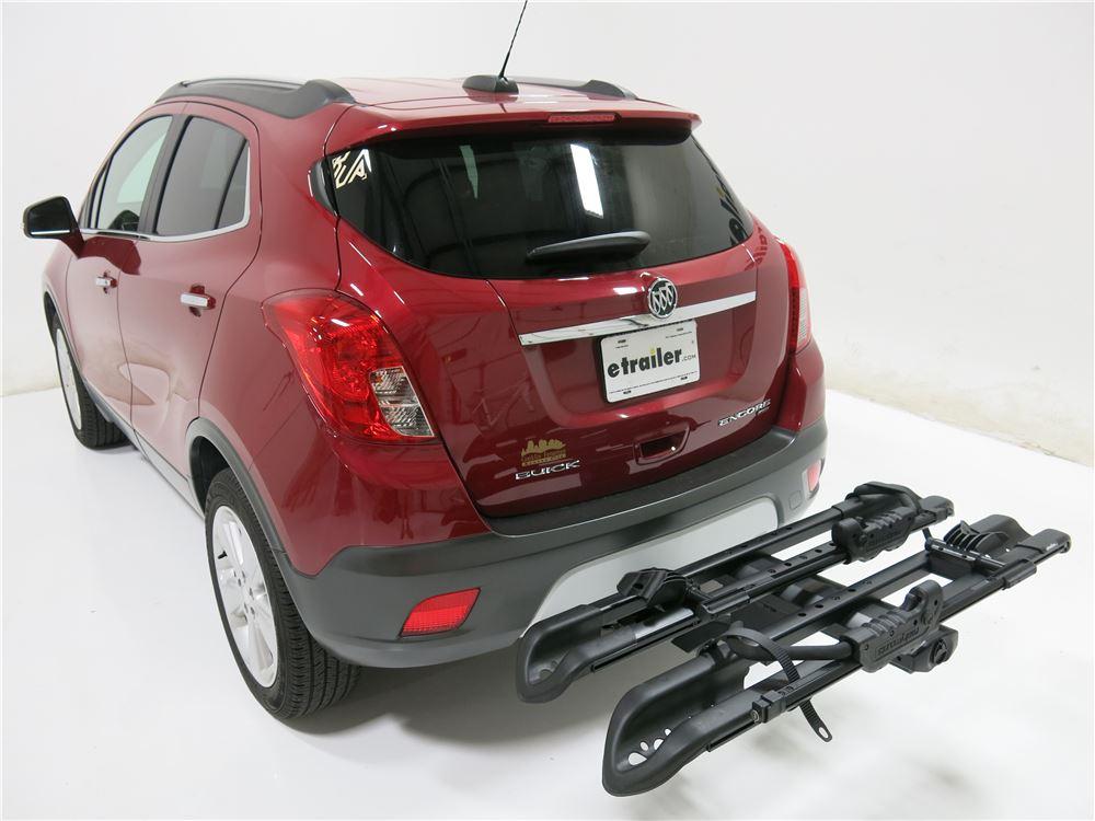"Buick Encore Bike Rack >> RockyMounts SplitRail 2 Bike Platform Rack - 1-1/4"" Hitches - Wheel Mount - Tilting RockyMounts ..."