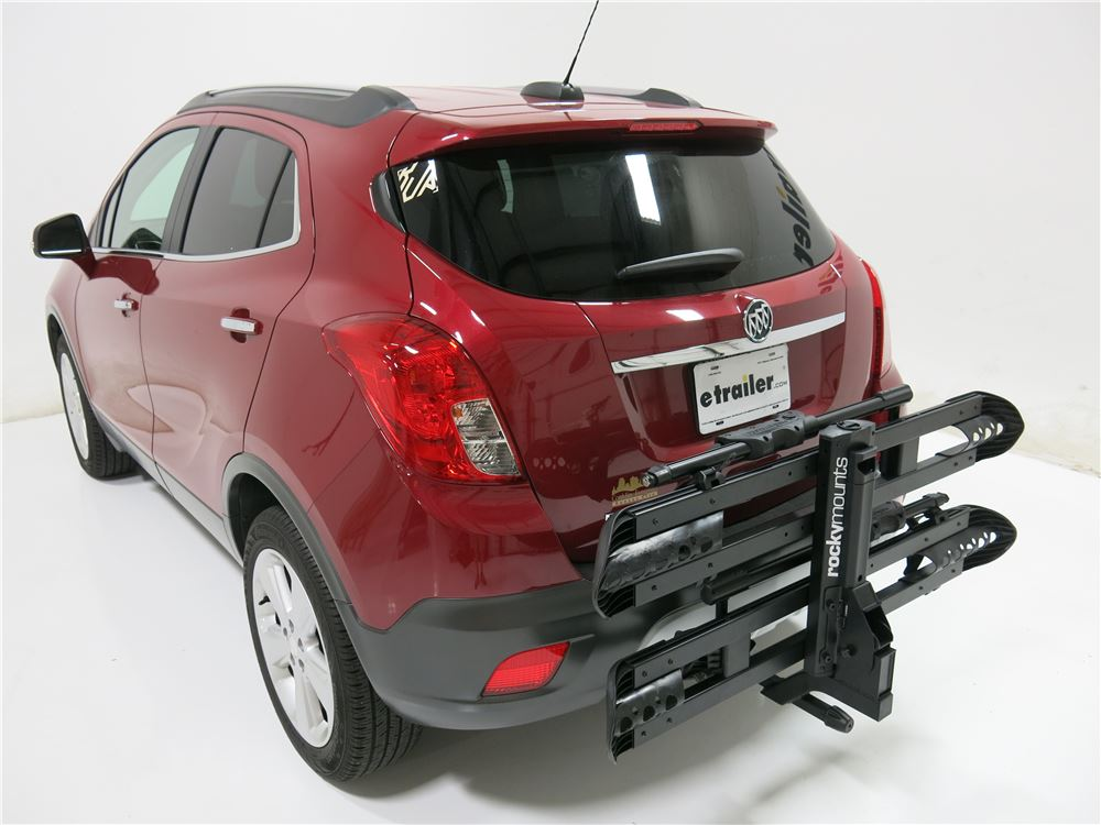 "Buick Encore Bike Rack >> RockyMounts SplitRail 2 Bike Platform Rack - 1-1/4"" Hitches - Wheel Mount - Tilting RockyMounts ..."