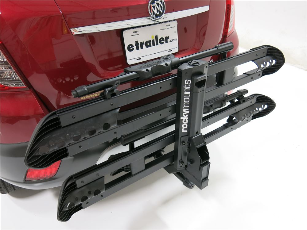 "Buick Encore Bike Rack >> RockyMounts SplitRail 2 Bike Platform Rack - 1-1/4"" Hitches - Tilting - Aluminum RockyMounts ..."