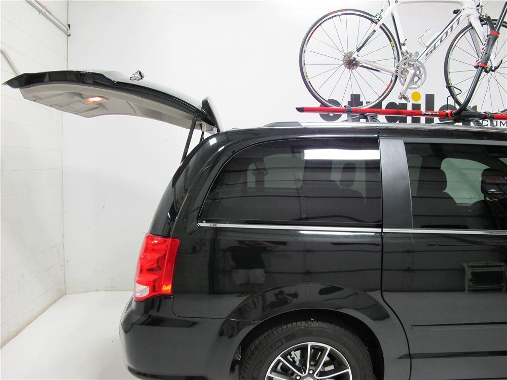 Rockymounts Brassknuckles Roof Mounted Bike Rack Wheel