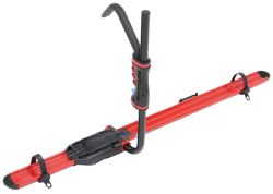 RockyMounts BrassKnuckles Roof Bike Rack for Fat Bikes - Wheel Mount - Aluminum - Red