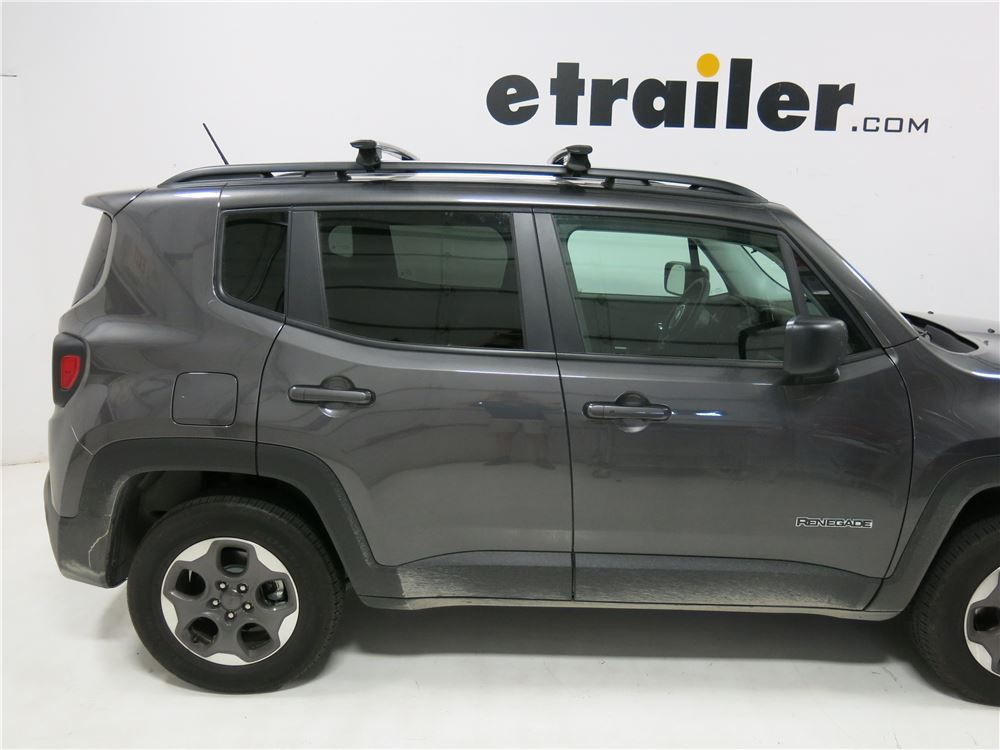 Jeep Renegade RockyMounts Ouray Crossbars - Aluminum ...