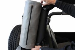 Rightline Gear Custom Roll Bar Storage Bag - Jeep - Water-Resistant - Gray - RL100J70
