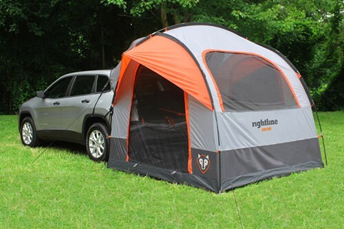 Rightline Gear SUV Tent with Rainfly - Waterproof - Sleeps 4 & Will Rightline CampRight SUV Tent # RL110907 Fit On 2011 Toyota ...