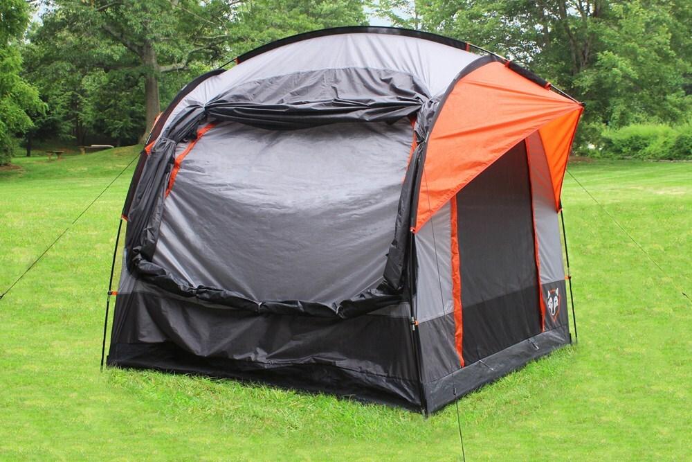 rightline gear suv tent with rainfly waterproof sleeps. Black Bedroom Furniture Sets. Home Design Ideas