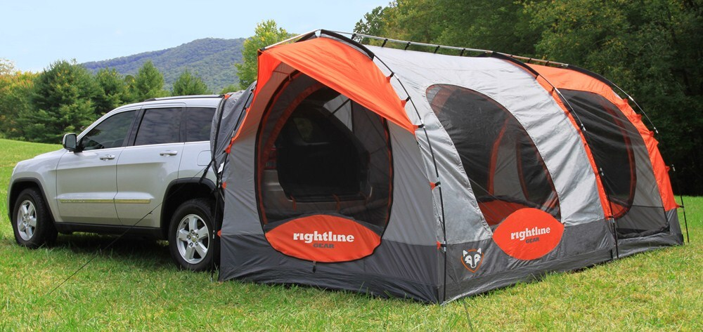... Rightline SUV Tent with Screen Room and Rain Fly - Waterproof - Sleeps 8 ... & etrailer.com Get Your Gear to College