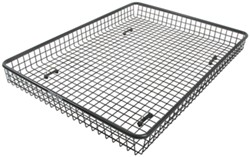 "Rhino-Rack Roof Cargo Basket for Aero-Style Crossbars - Steel Mesh - 62"" x 47"""