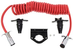 RoadMaster 6-Wire Flexo-Coil Cord Kit with Mounting Brackets