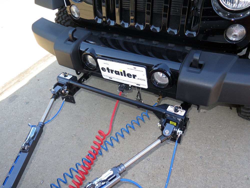 2016 Jeep Wrangler Unlimited Tow Bar Wiring