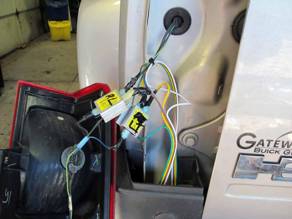 2008 Hummer H3 Tow Bar Wiring