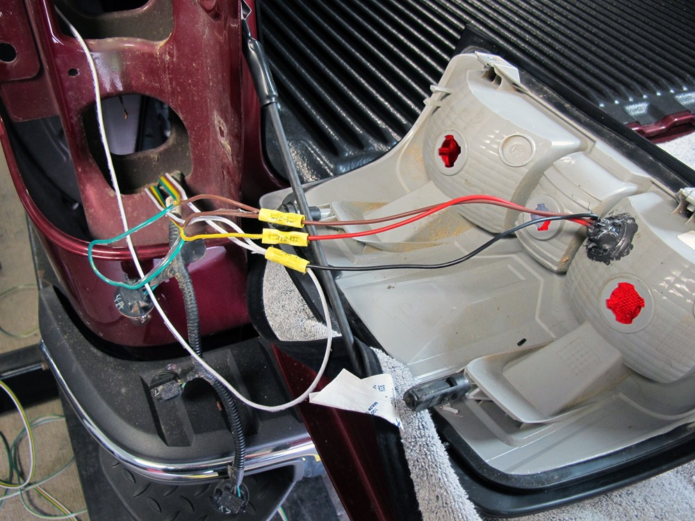 2008 toyota tundra roadmaster tail light wiring kit with bulbs toyota tundra fog light wiring toyota tundra tail light wiring