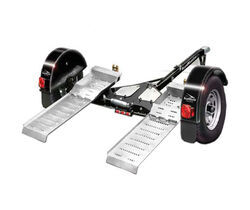Roadmaster Tow Dolly with Self-Steering Wheels and Electric Brakes - 4,380 lbs