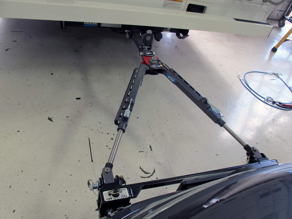 "Tow Hitch Installation >> Roadmaster Falcon All Terrain, Non-Binding Tow Bar - Motor Home Mount - 2"" Hitch - 6,000 lbs ..."