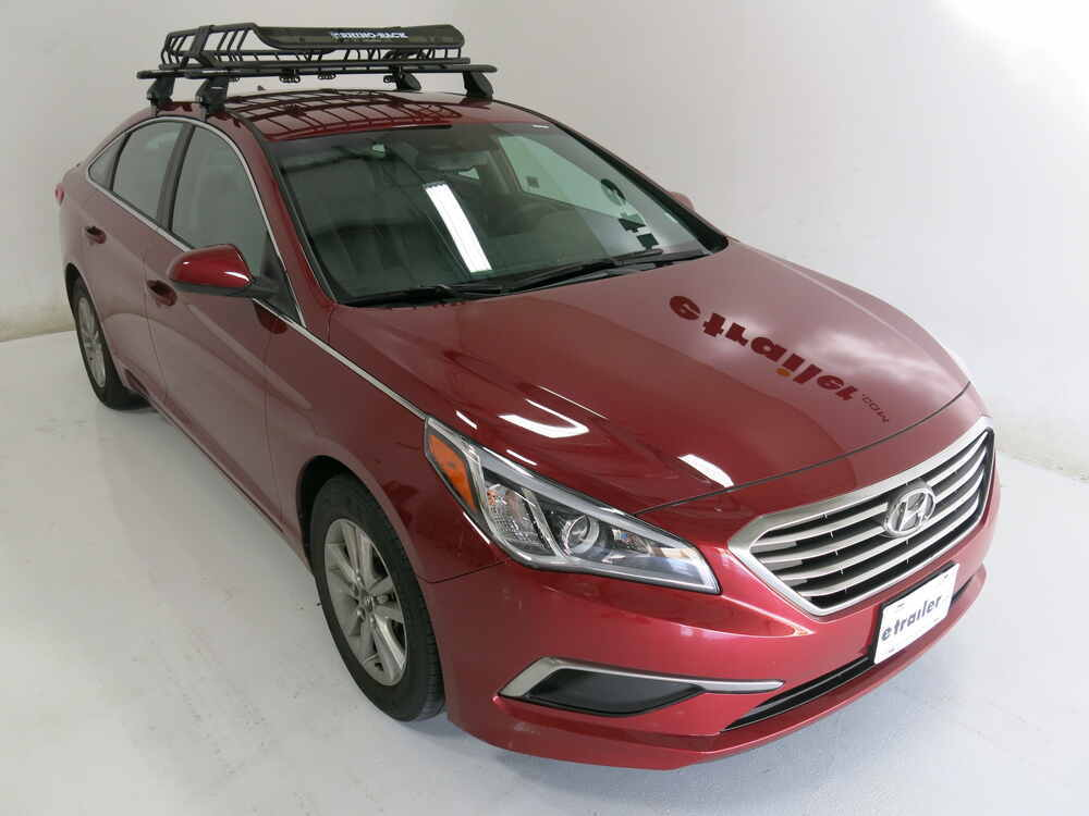 2015 hyundai sonata rhino rack roof mounted steel cargo basket 47 long x 35 wide 165 lbs. Black Bedroom Furniture Sets. Home Design Ideas