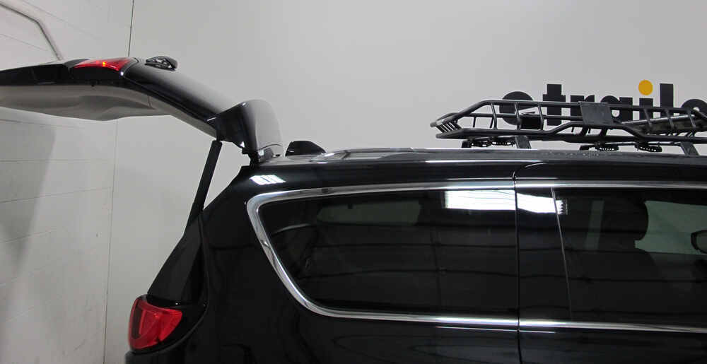 "Used 2017 Chrysler Pacifica >> Rhino-Rack Roof Mounted Steel Cargo Basket - 47"" Long x 35 ..."