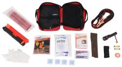 Orion Deluxe Roadside Emergency Kit with Flares, Jumper Cables, and First Aid Kit - 79 Pieces