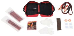Orion Roadside Emergency Kit with Flares and Jumper Cables - 19 Pieces