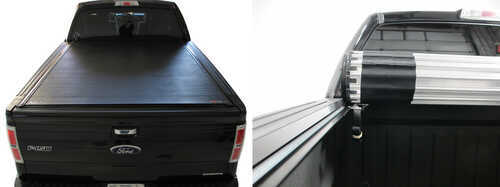 BAK Revolver X2 Tonneau Cover Closed and Rolled Up