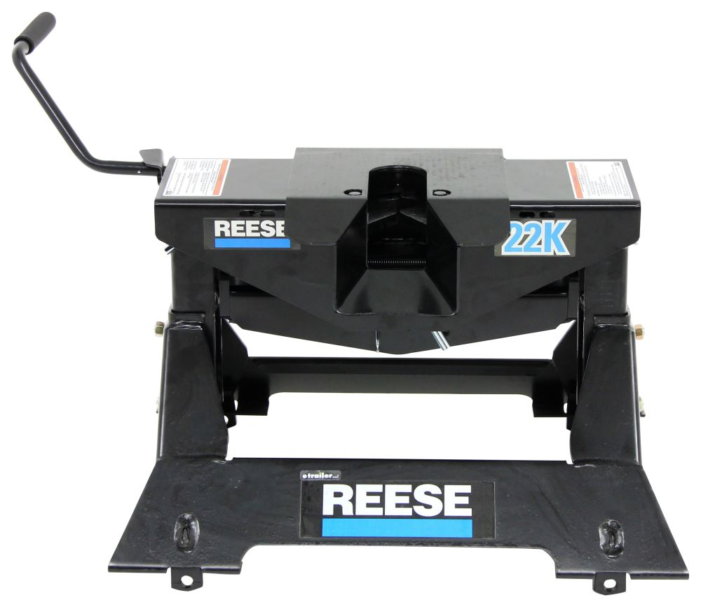 Reese 5th Wheel Trailer Hitch W   Wiring Harness - Dual Jaw