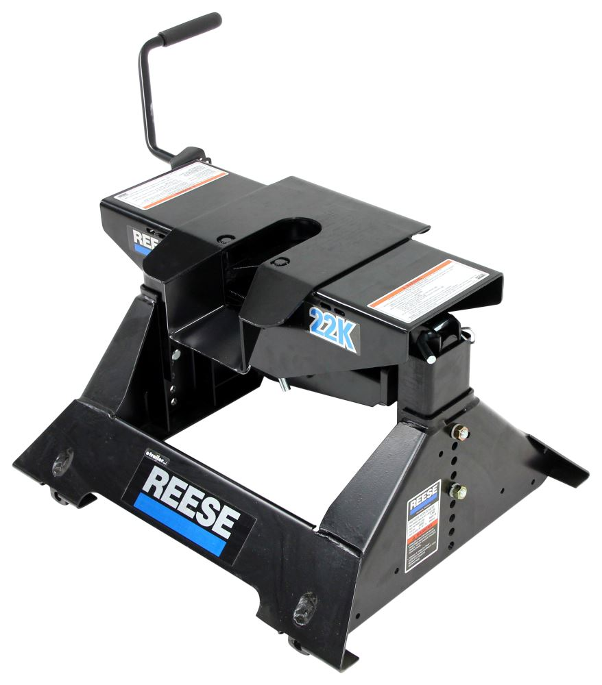 reese 5th wheel trailer hitch w wiring harness dual jaw 22 000 lbs reese fifth wheel rp30033