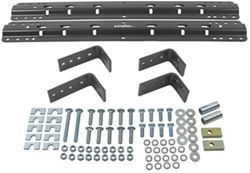Reese Universal Base Rails and Installation Kit for 5th Wheel Trailer Hitches - 10 Bolt