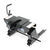 reese fifth wheel sliding double pivot 5th trailer hitch w/ square tube slider - dual jaw 16 000 lbs