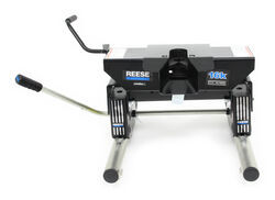 Reese 5th Wheel Trailer Hitch w/ Round Tube Slider - Dual Jaw - 16,000 lbs