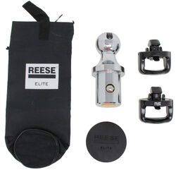 Reese Elite Series Pop-In Ball Kit for Ford Super Duty and Nissan Titan XD Under-Bed Gooseneck Hitch