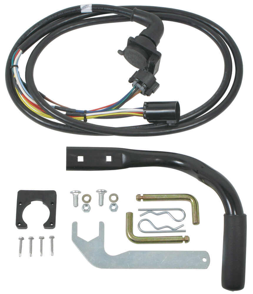 reese elite series pre assembled 5th wheel trailer hitch w Mercury Outboard Wiring Harness Truck Camper Wiring Harness