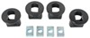 Reese Elite Series 5th Wheel Rail Puck Adapters for Plastic Truck Bed Liner