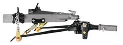 Strait-Line Weight Distribution System w Sway Control - Trunnion Bar - 10,000 lbs GTW, 800 lbs TW